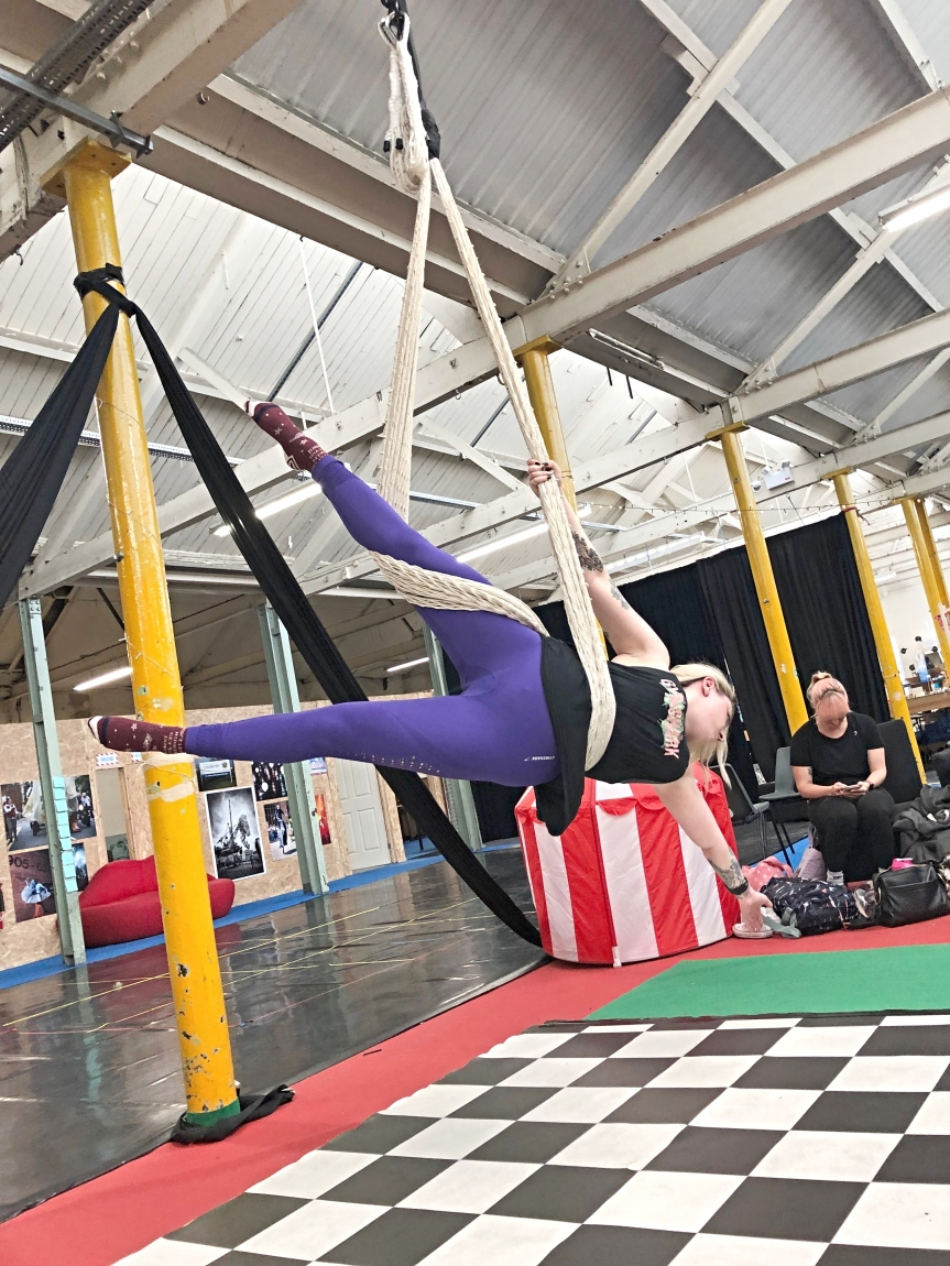 Rebel Manifesto Aerial – A different way to keep fit thisAutumn.