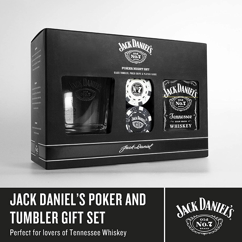 You Can Win 1 of 10 Jack Daniels PokerSets