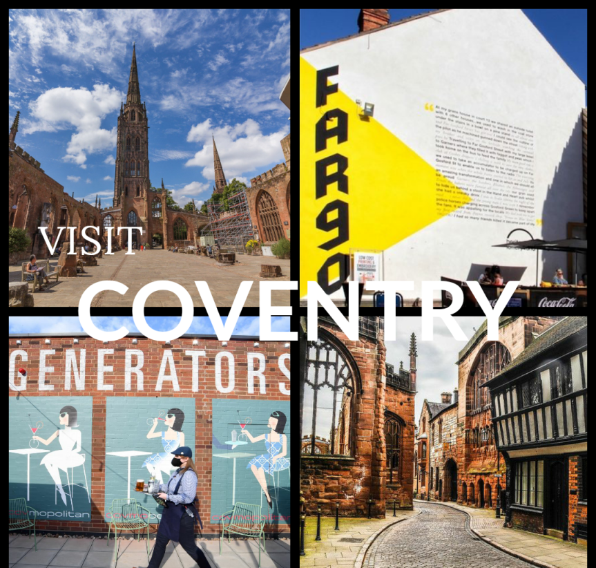 Top 10 Things To Do In Coventry + Warwickshire ThisSummer.