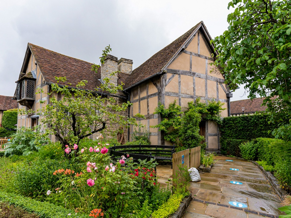 Shakespeares House, the birthplace and home of William Shakespeare